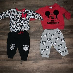 Mix and match Disney sweat suits